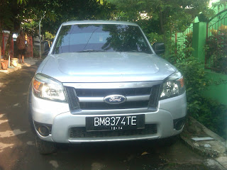 Pengiriman Ford Ranger BM 8374 TE Palembang ke Pontianak