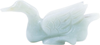 BLUE JADE CARVING