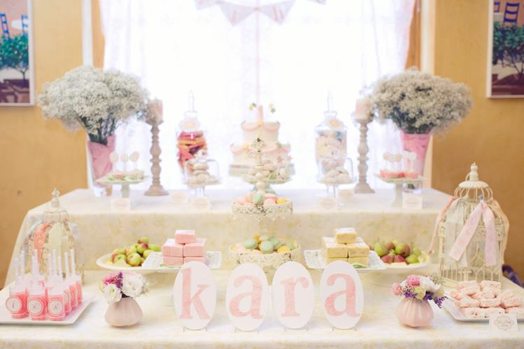 Karas Party Ideas Starry Shabby Chic 1st Birthday Star Party