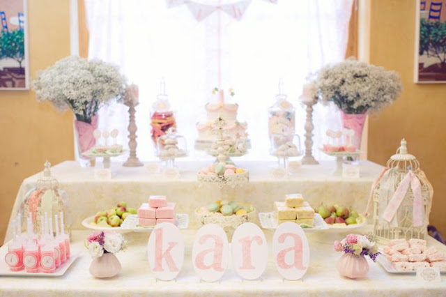 Starry Shabby Chic 1st Birthday Star Party - Kara's Party Ideas