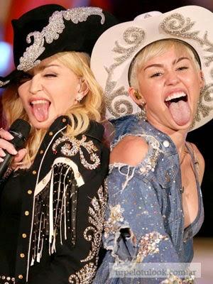 cortes de pelo 2014 Miley-Madonna