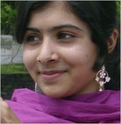 Omaggio a Malala Yousufzai, la 14enne attivista pakistana