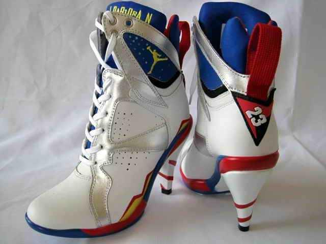 Michael Jordan High Heel Tennis Shoes