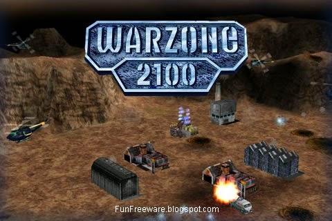 Warzone 2100 RTS Splash Image