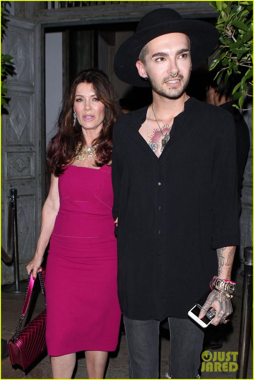 Tokio Hotel Malaysia: HQ PHOTOS: Bill Kaulitzs Date Night with Lisa Vanderpump (21.07.2015)