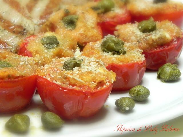 hiperica_lady_boheme_blog_di_cucina_ricette_gustose_facili_veloci_pomodorini_gratinati_al_forno_3