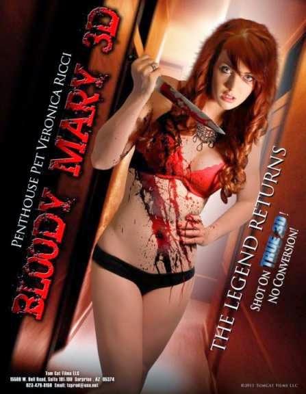 Hindi Dubbed Horror Blody Mar y 3D (2011) BRRip HD 720p Dual Audio
