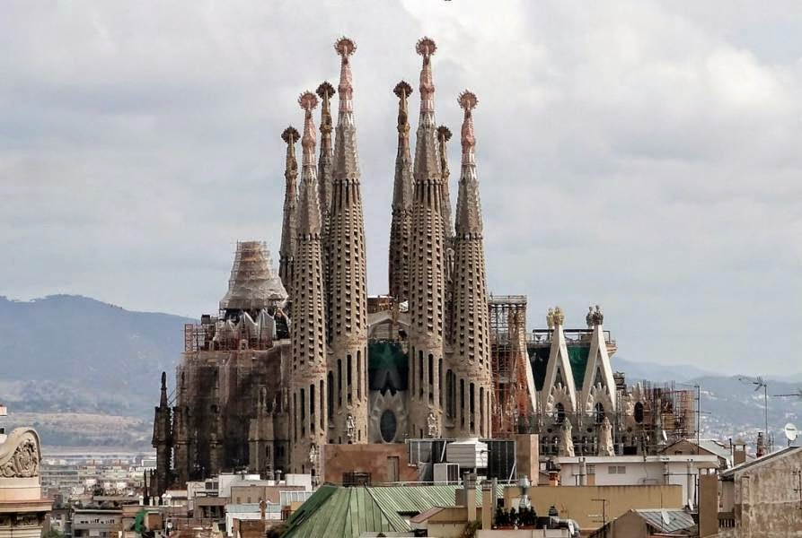Sagrada Familia, Barcelona, Spain Famous European Places, Most Famous Places in Europe