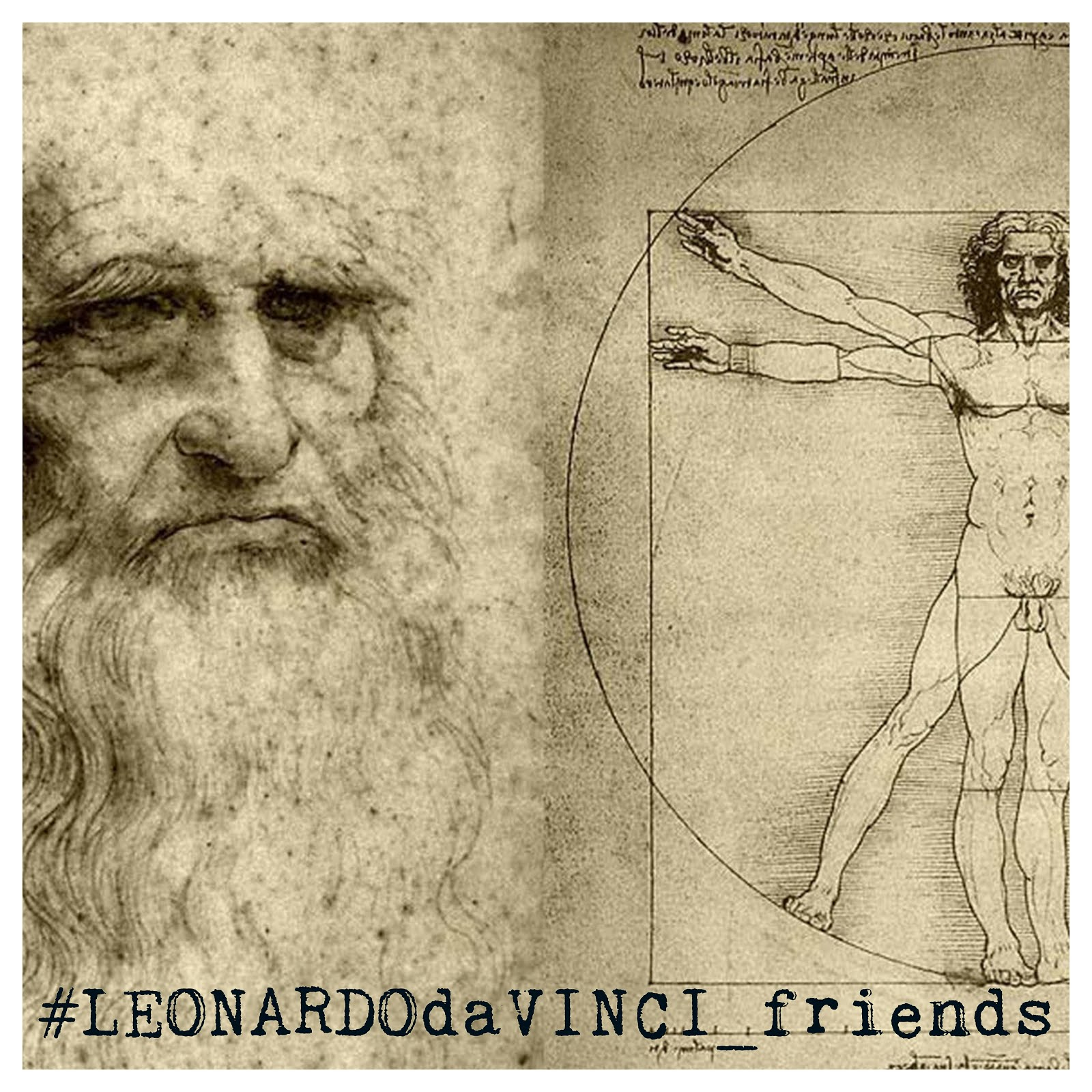 #LEONARDOdaVINCI_friends