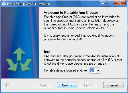 free portable apps creator 0972 beta download
