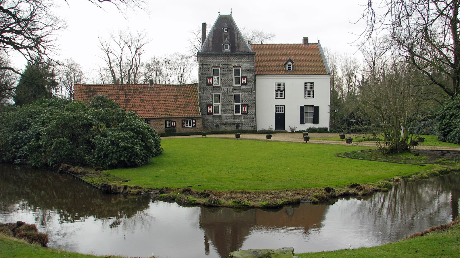 Kasteel groot en klein deurne noord brabant tweeling donjons dutch castles nederlandse - Huis verlenging oud huis ...