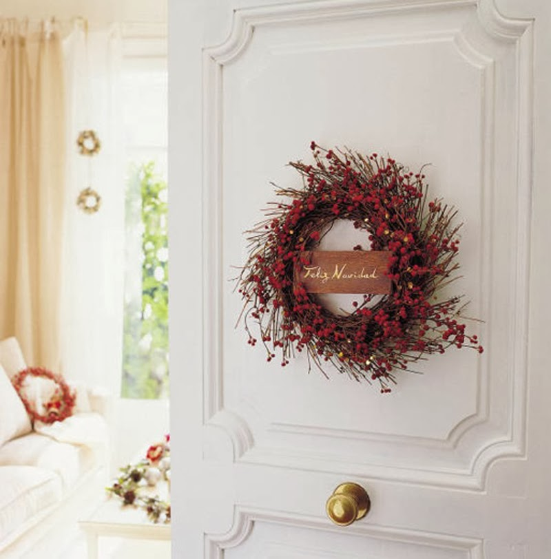 christmas wreaths coronas de navidad