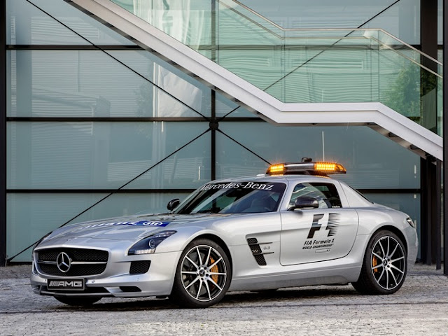 Mercedes-Benz SLS 63 AMG F1 Safety Car
