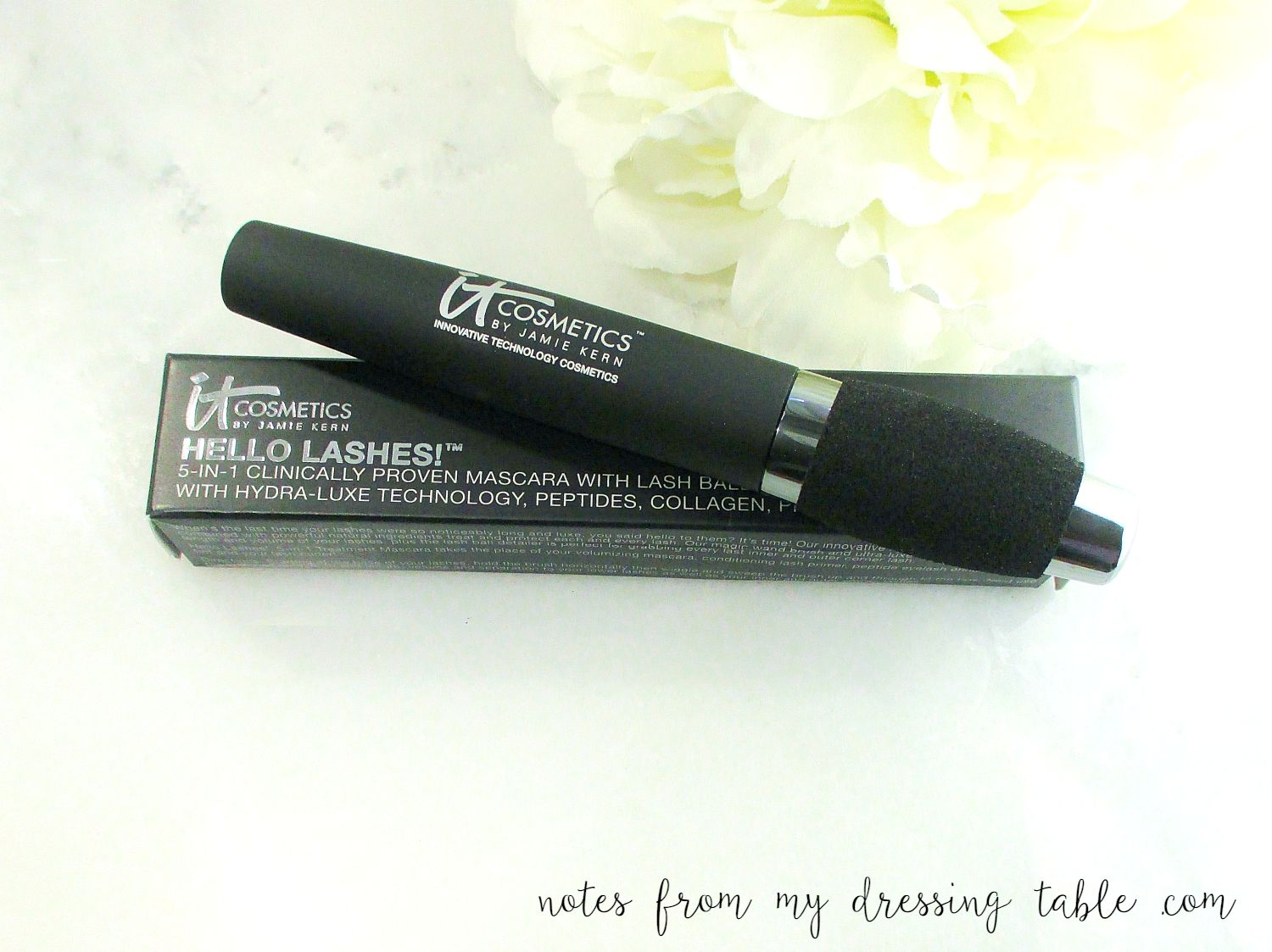 IT Cosmetics Hello Lashes mascara notesfrommydressingtable.com