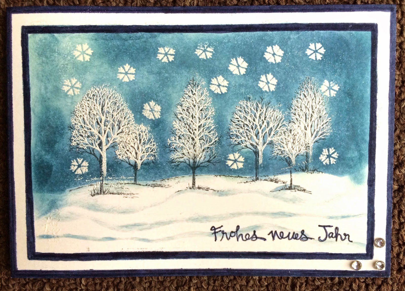 One-Layer stampin up
