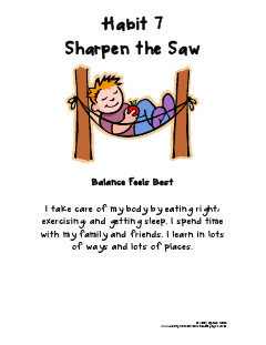 The 7 Habits Sharpen The Saw Habit 7 | Sainde.org