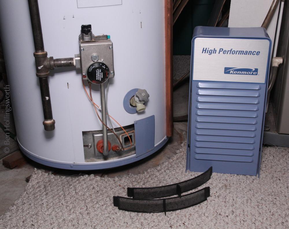 kenmore power miser 6. the bottom of arrestor visible in mirror kenmore power miser 6