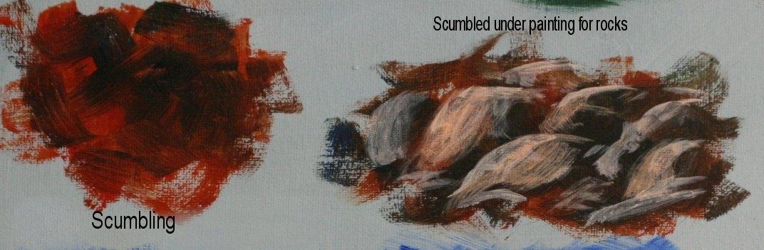 lerri s acrylic class basic acrylic brush strokes
