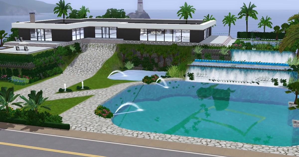 The sims giuly download e tutorial di the sims 3 villa for Case the sims 3 arredate