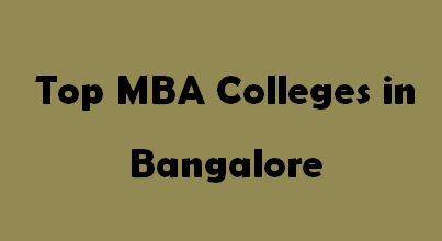 Top MBA Colleges in Bangalore 2014-2015