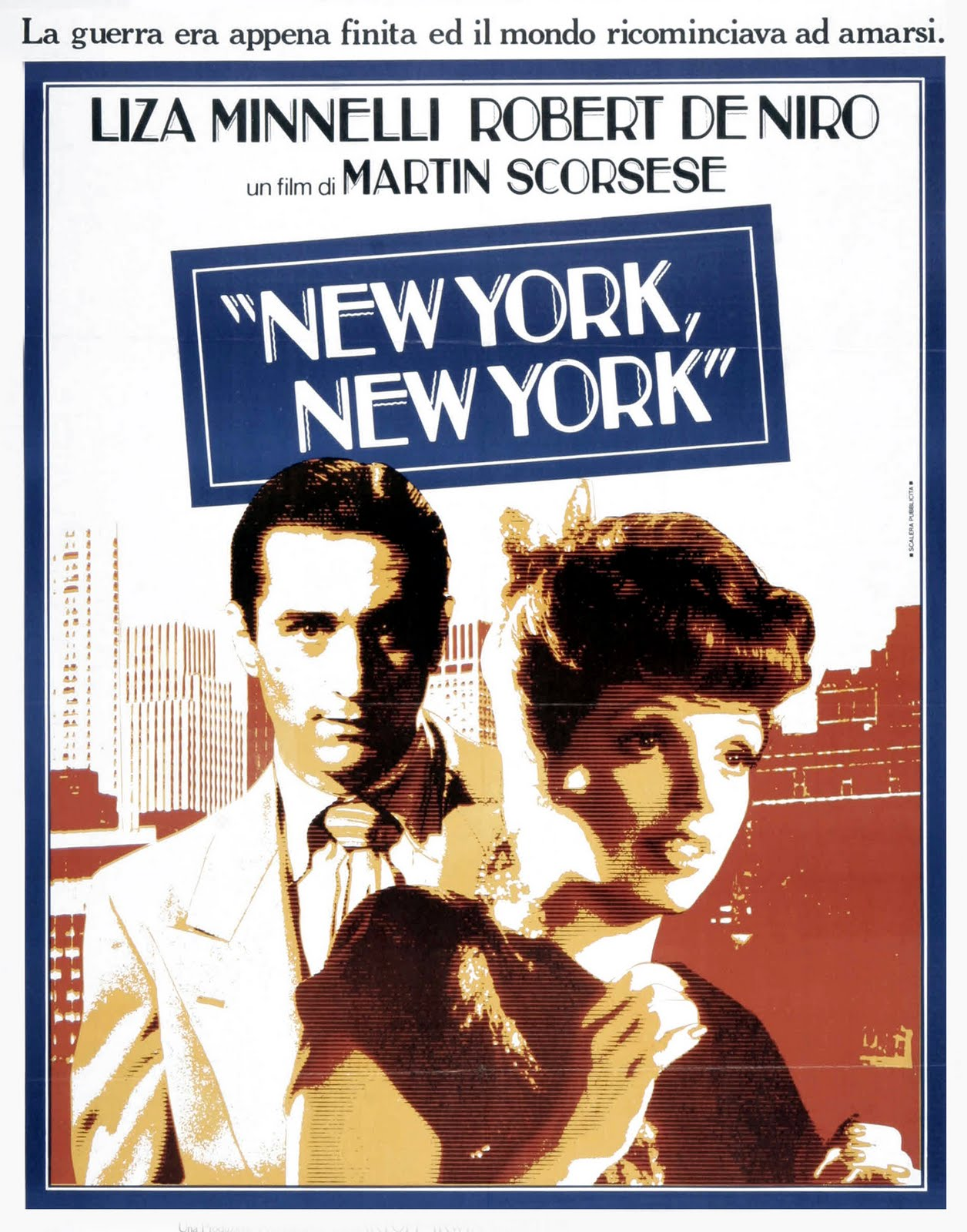 MOVIE POSTERS: NEW YORK, NEW YORK (1977)