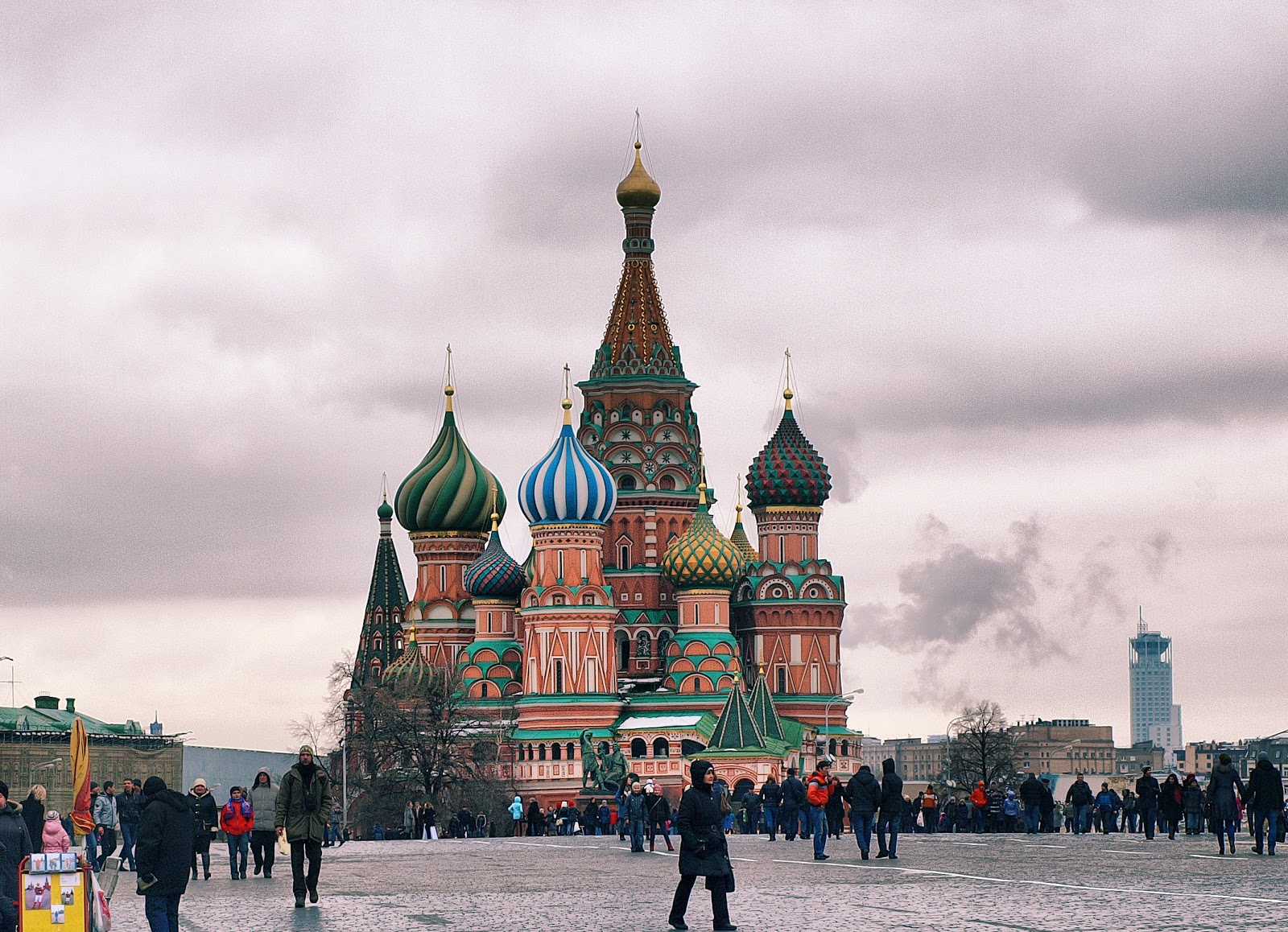 St. Basil's Cathdral, Moscow