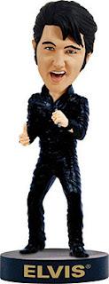 Elvis 68 Comeback Special Bobblehead Bobbleheads.com