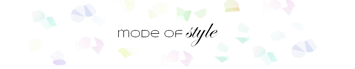 Mode of Style
