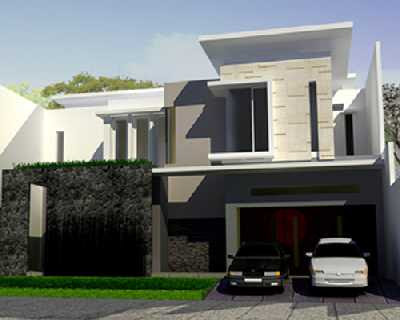 Modern Minimalist Design House with 2 Floors