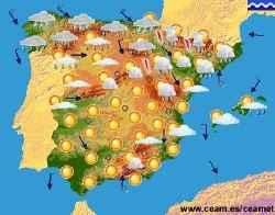 Coleydeporte mapa metereol gico los elementos del clima for Elementos de cocina bogota