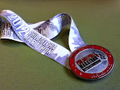 Medal from my first marathon! Philly 2012