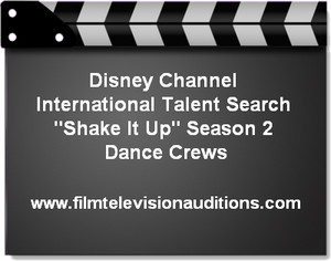 Disney Channel Dance Crew Talent Search