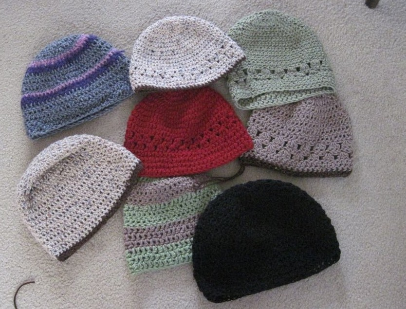 Crocheting For The Homeless : Bridge and Beyond: Ladies Crocheted Hats for the Homeless