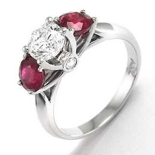 95th Anniversary Gift Diamond, Ruby