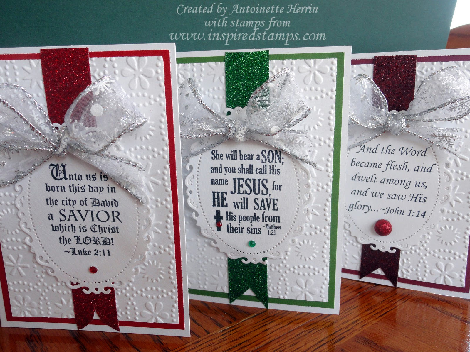 Inspired Stamps The Blog How To Make Your Own Christmas