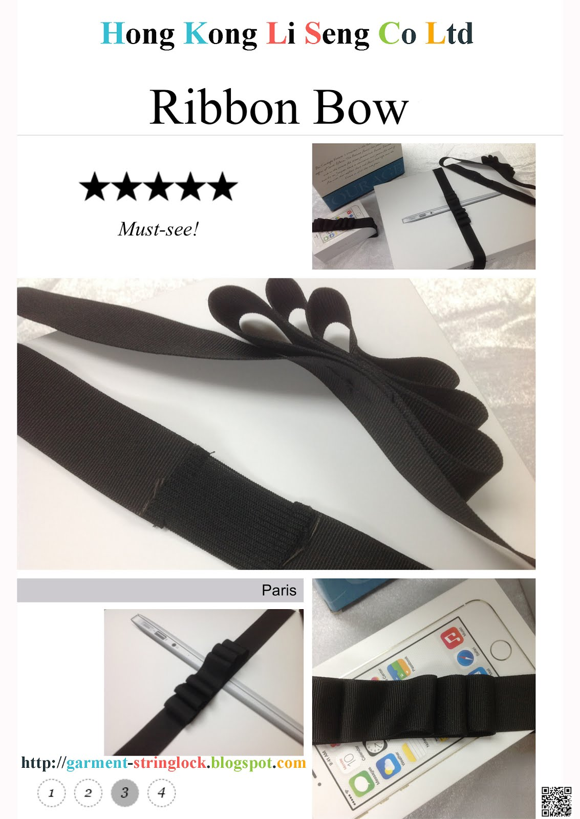 Large Ribbon Bow for All Kind Packing and Textile Industry