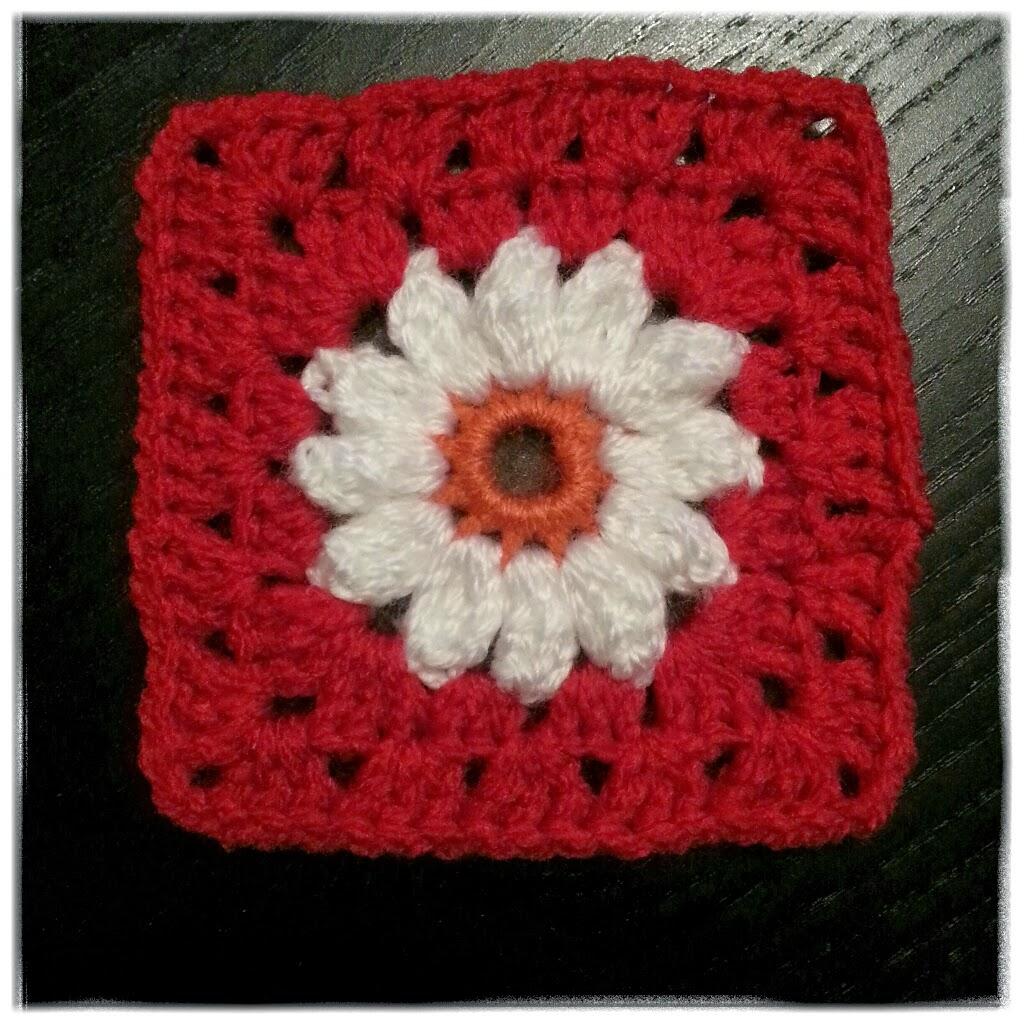 granny square daisy