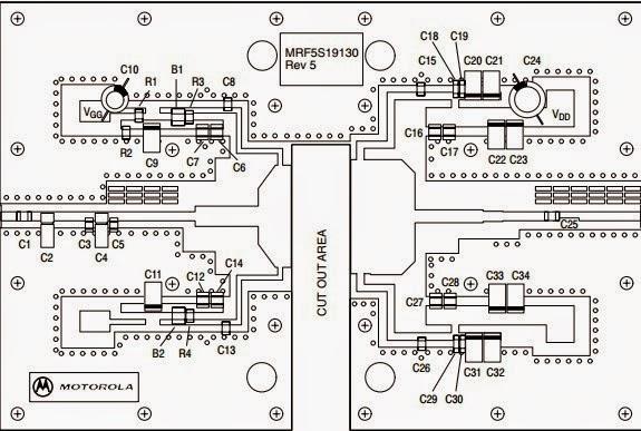 rf power transistor  mrf5s19130hsr3 rf power field effect transistors