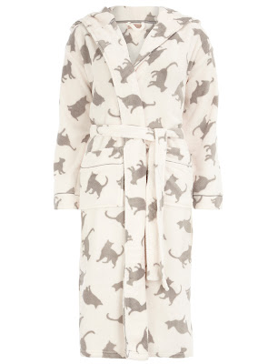 cat dressing gown