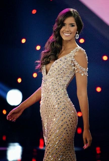 Paulina Vega Dieppa Gown