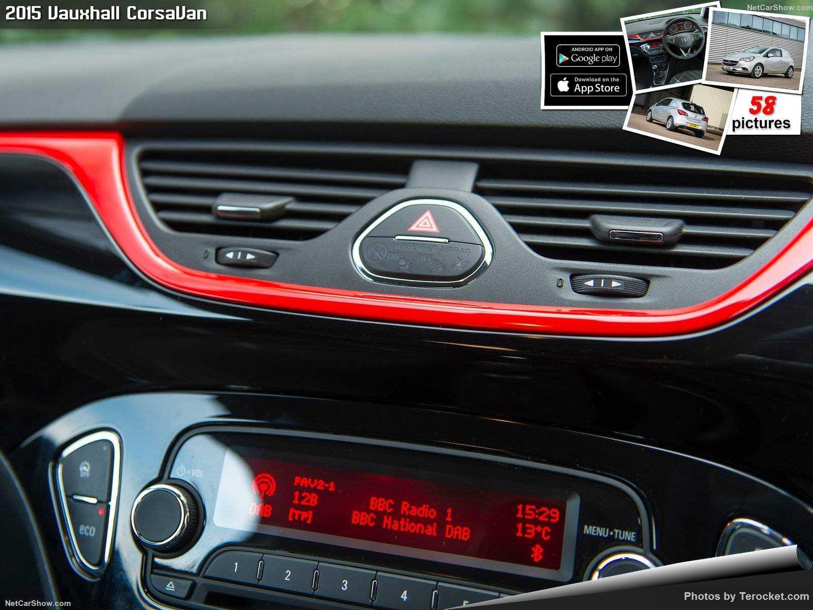 Hình ảnh xe ô tô Vauxhall CorsaVan 2015 & nội ngoại thất