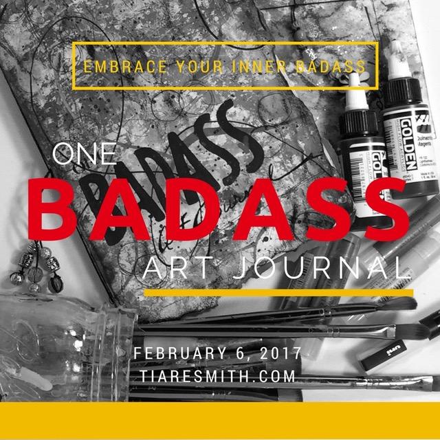 ONE BADASS ART JOURNAL 2017