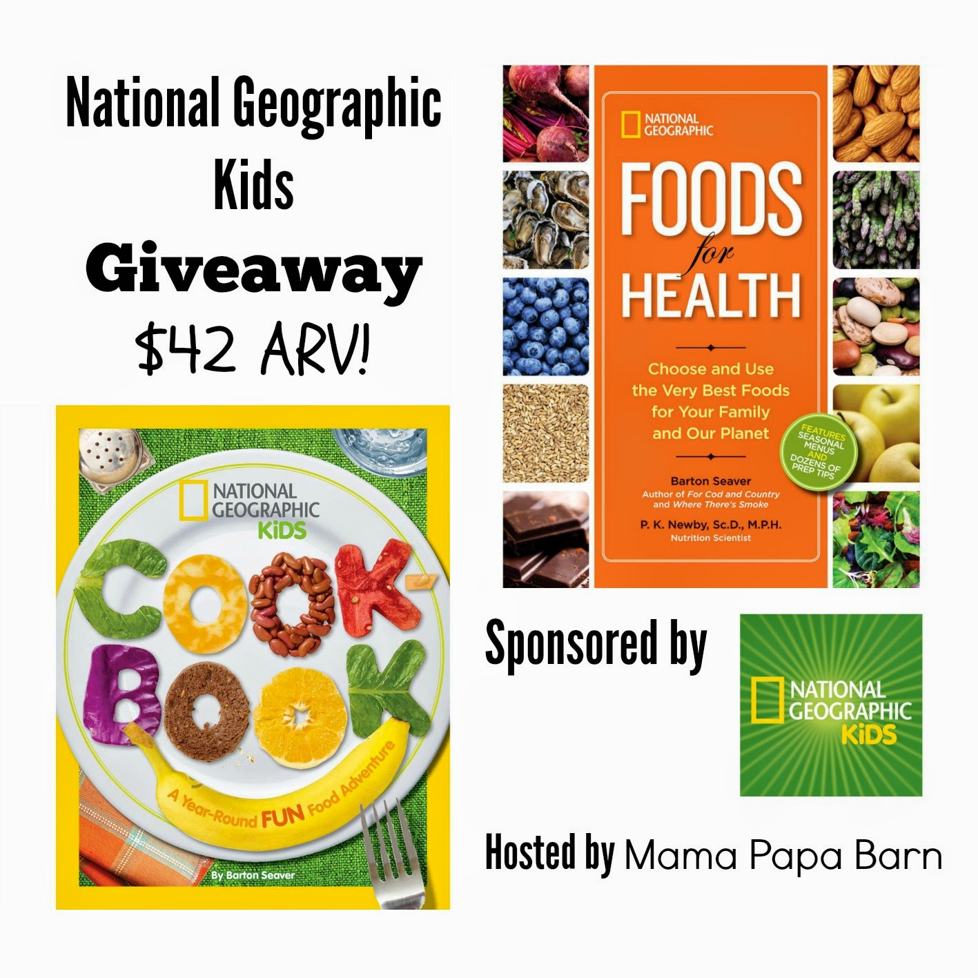 National Geographic Kids Cookbook & Foods Giveaway - My ...