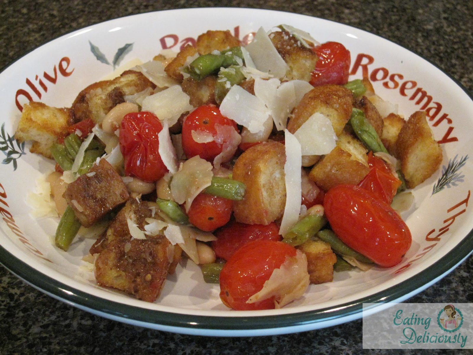 Eating Deliciously: Roasted Vegetable Panzanella