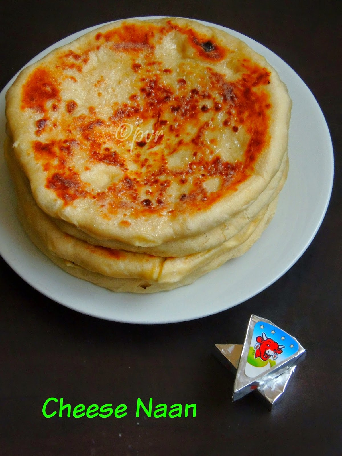 Cheese Naan, Naan au fromage