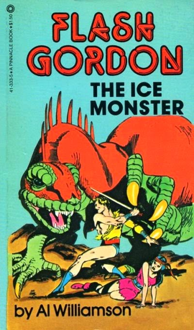 FLASH GORDON THE ICE MONSTER PAPERBACK