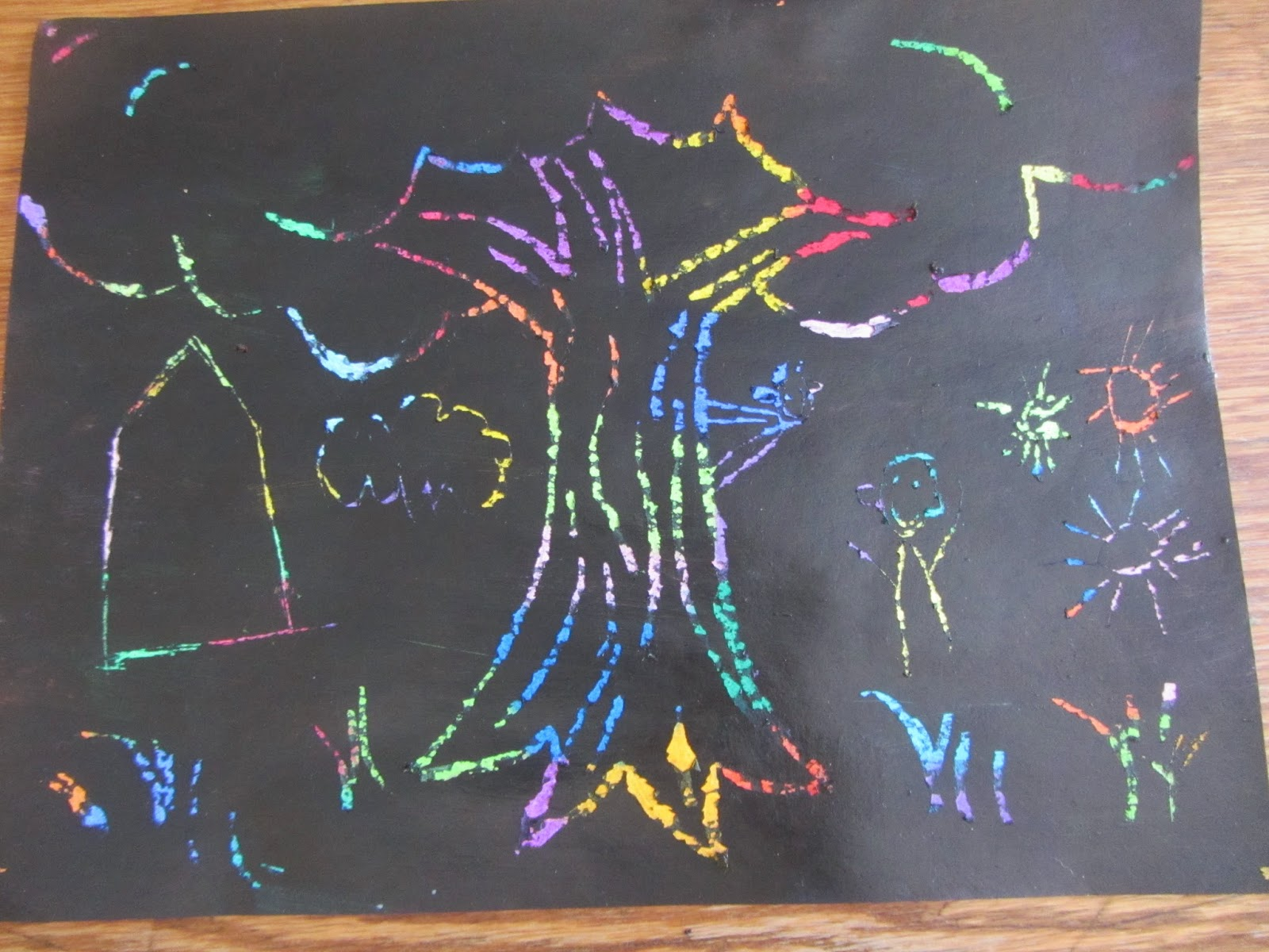 Scratch Art: Art Project for ANY Age {The Unlikely Homeschool}