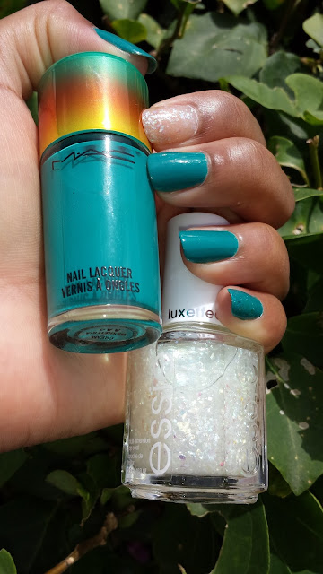 M.A.C 'Washteria' LE + Essie 'Sparkle On Top' www.modenmakeup.com