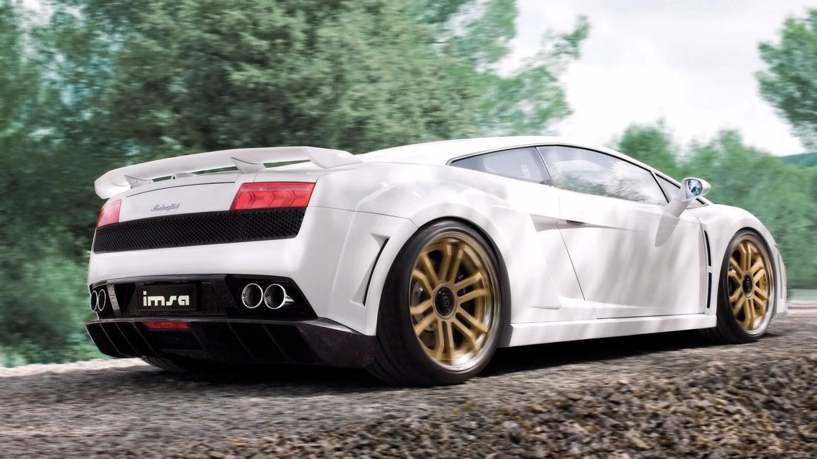 Lamborghini Gallardo White Wallpapers HD