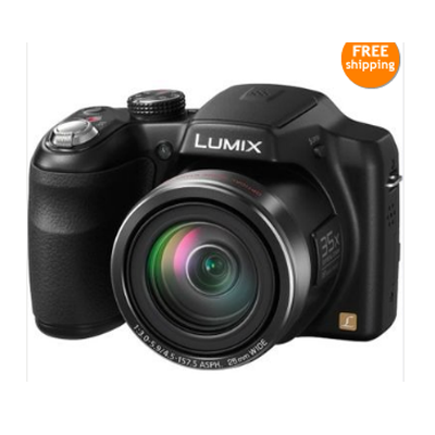 Buy Panasonic Lumix DMC-LZ30 Camera with 4gb Card, Case at Rs. 7599 – Amazon